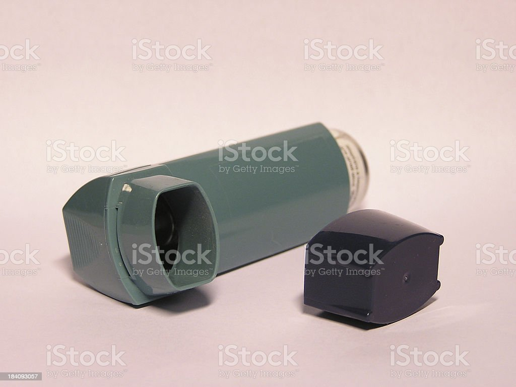 Inhaler royalty-free stock photo