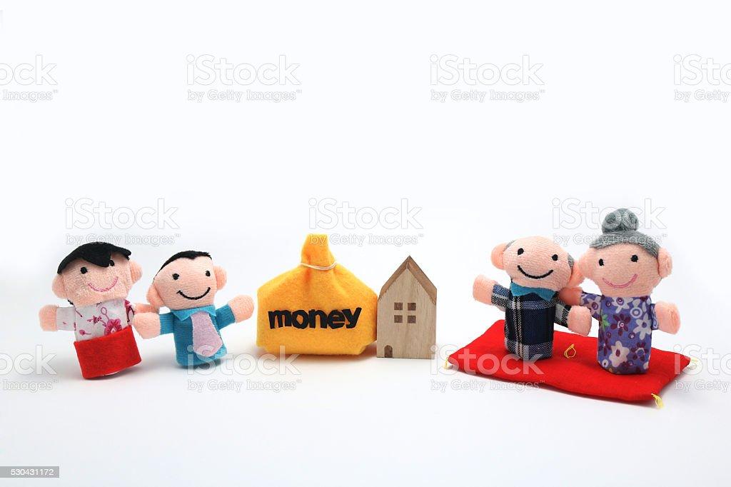 Inheritance. stock photo