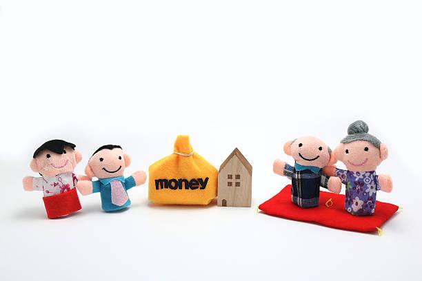 la successione. - holiday and invoice family foto e immagini stock