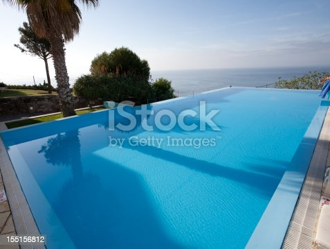 Inifinity pool on the island of Madeira - Europe.