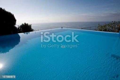 Inifinity pool, Hotel Estalagem da Ponta do Sol, Madeira, Europe.