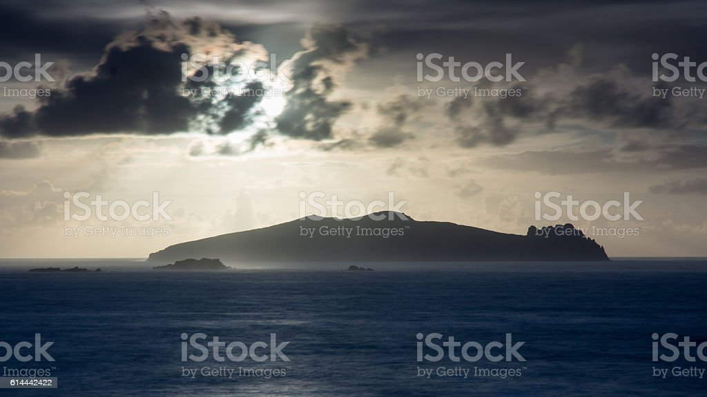 Inishtooskert Island stock photo