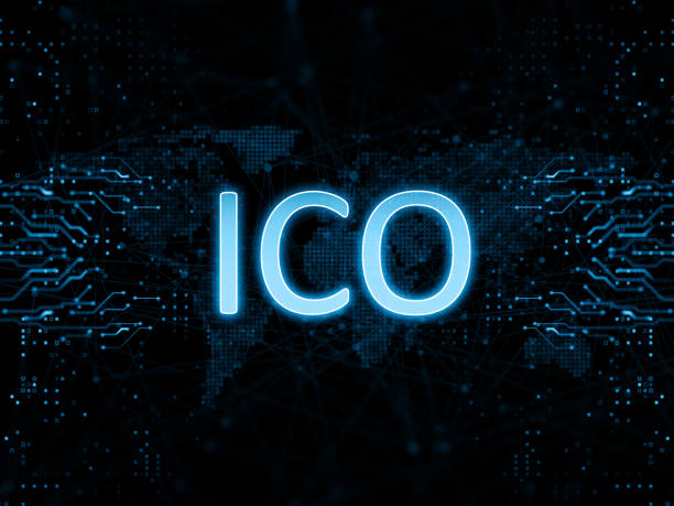 Initial coin offering ICO ICO Commerce concept initial coin offering stock pictures, royalty-free photos & images
