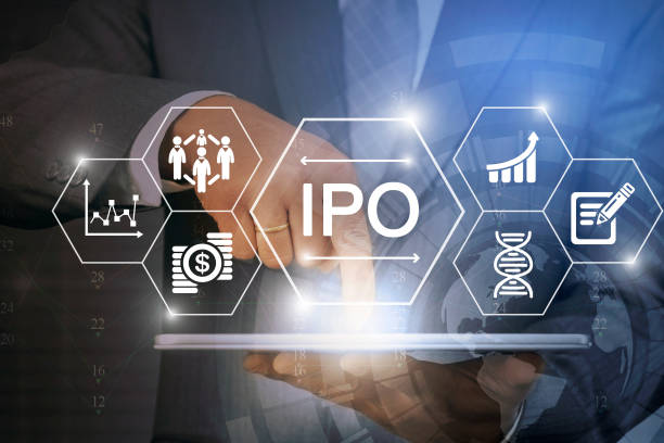 IPO: Initial public offering stock photo