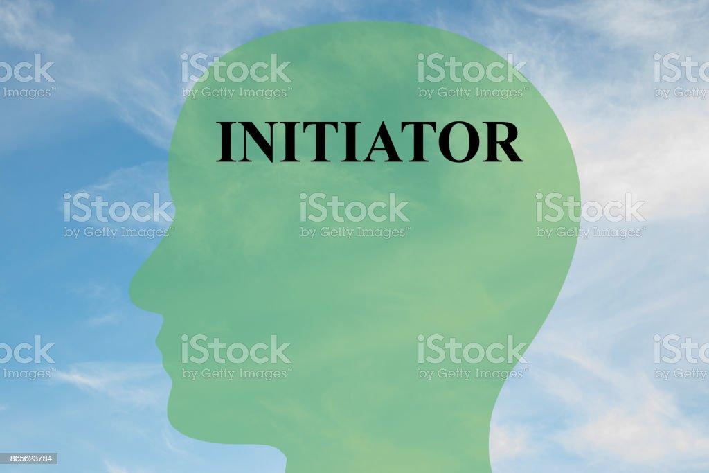 Initiator mentality concept stock photo