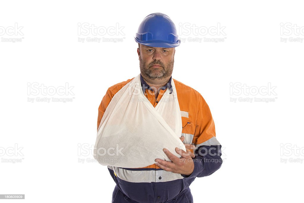 Injured Arm stock photo