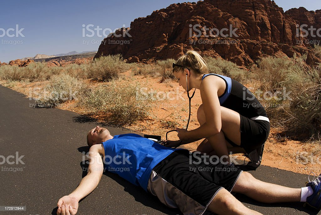 Injured stock photo