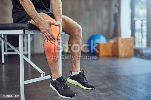 istock Injuries happens when you workout 628092062