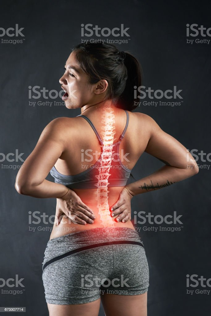 Injury is always a risk in sports stock photo