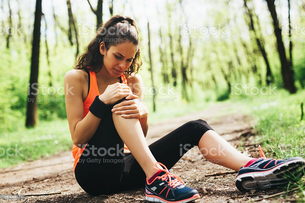 Injury stock photo