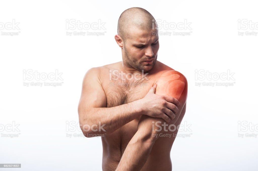 Injury to forearm stock photo