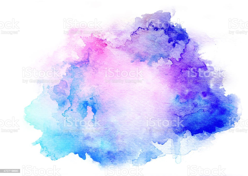 Free Photo Watercolors Rainbow Colors Lilac: Ink Blue Watercolor Background Stock Photo & More Pictures