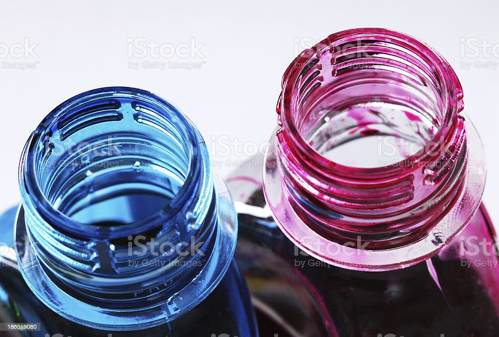 ink bottles royalty-free stock photo