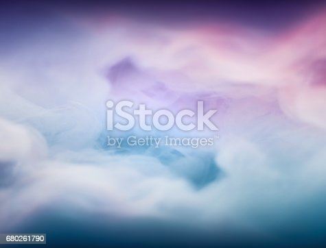 istock Ink cloud in the water. Conceptual background 680261790