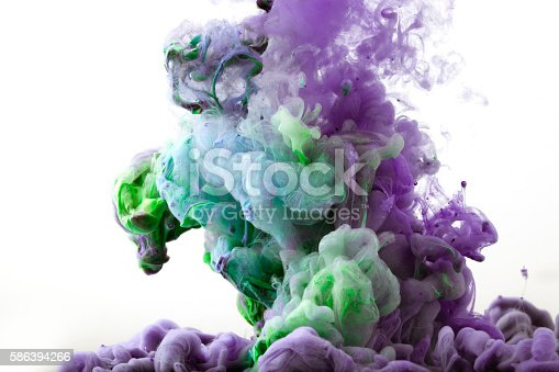 istock Ink in water 586394266