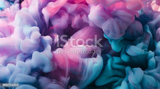 istock Ink in water 669224012