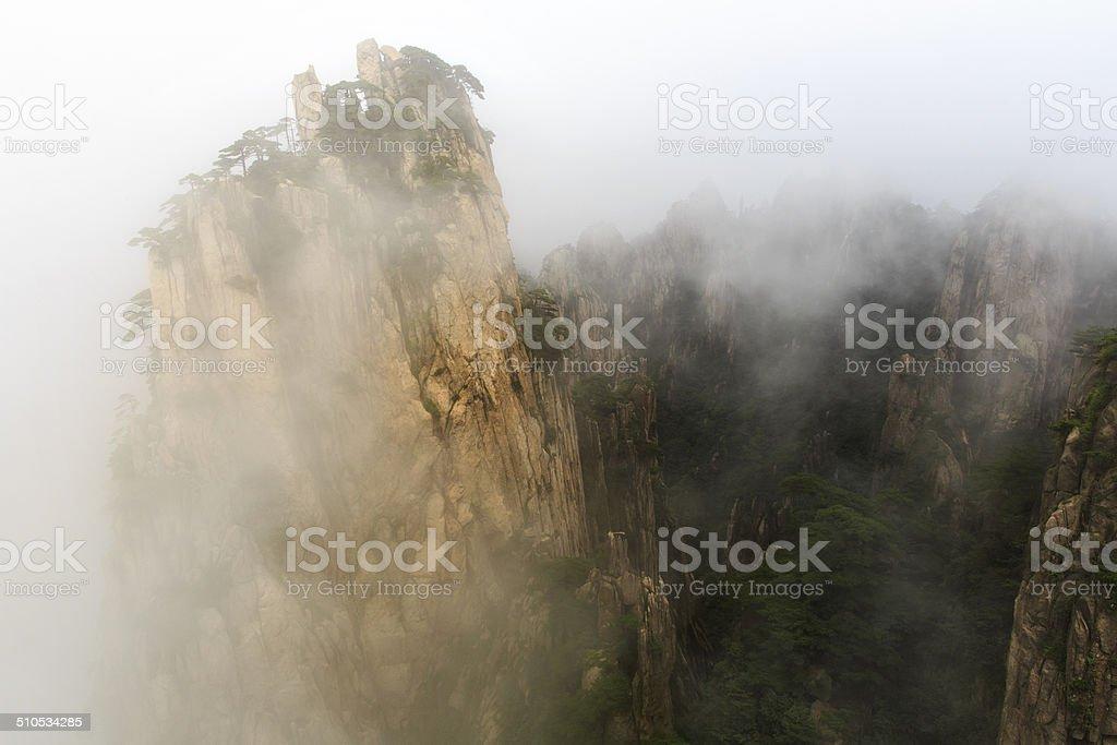 Tinte Landschaft-Malerei in Berg Huang – Foto