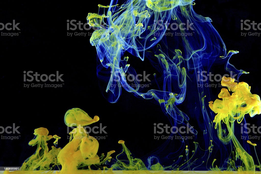 Ink nursery royalty-free stock photo