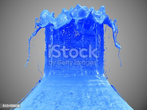 istock Ink Splash 643488636