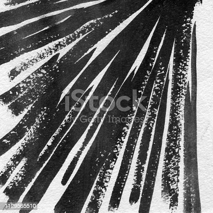 598092096istockphoto Ink Texture in Black & White hand-drawn design 1129565510