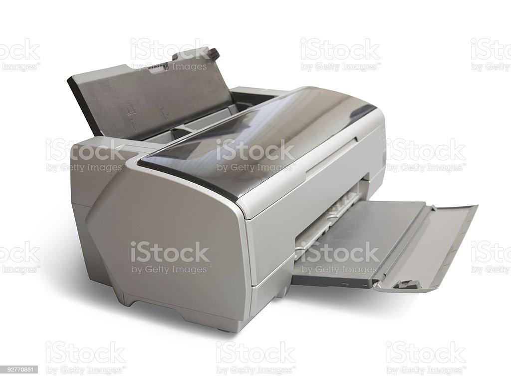 ink-jet printer royalty-free stock photo