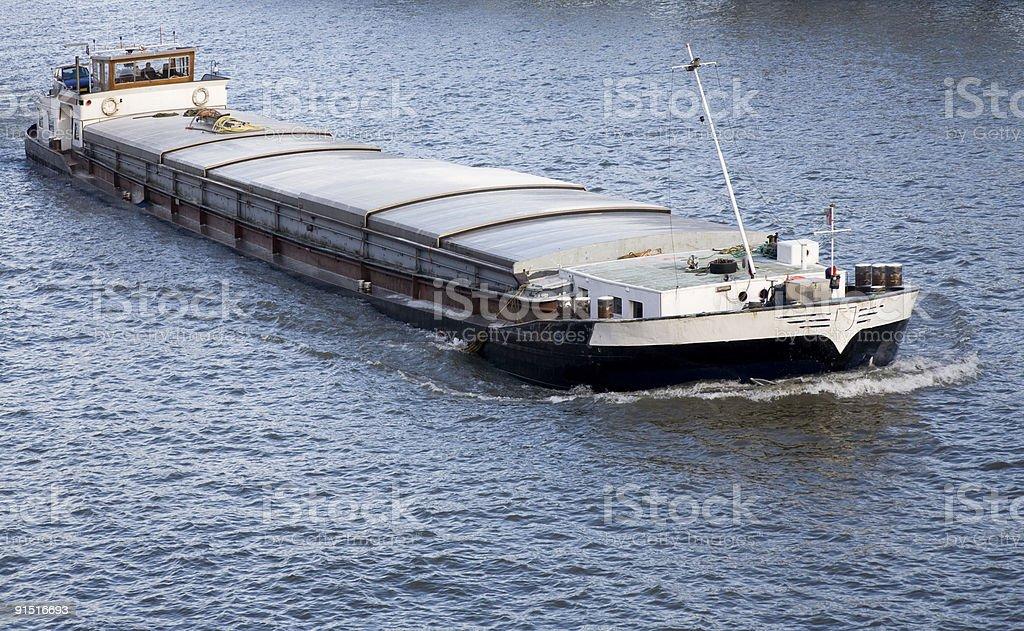 Inland navigation stock photo