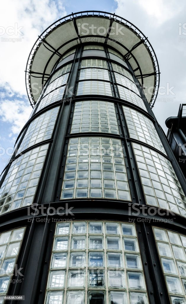 Inland Revenue Building, Nottingham stock photo