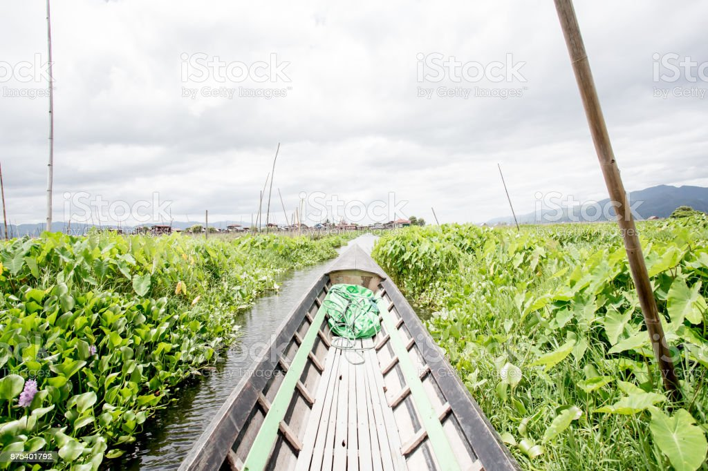 Inlemeer drijvende tuinen foto