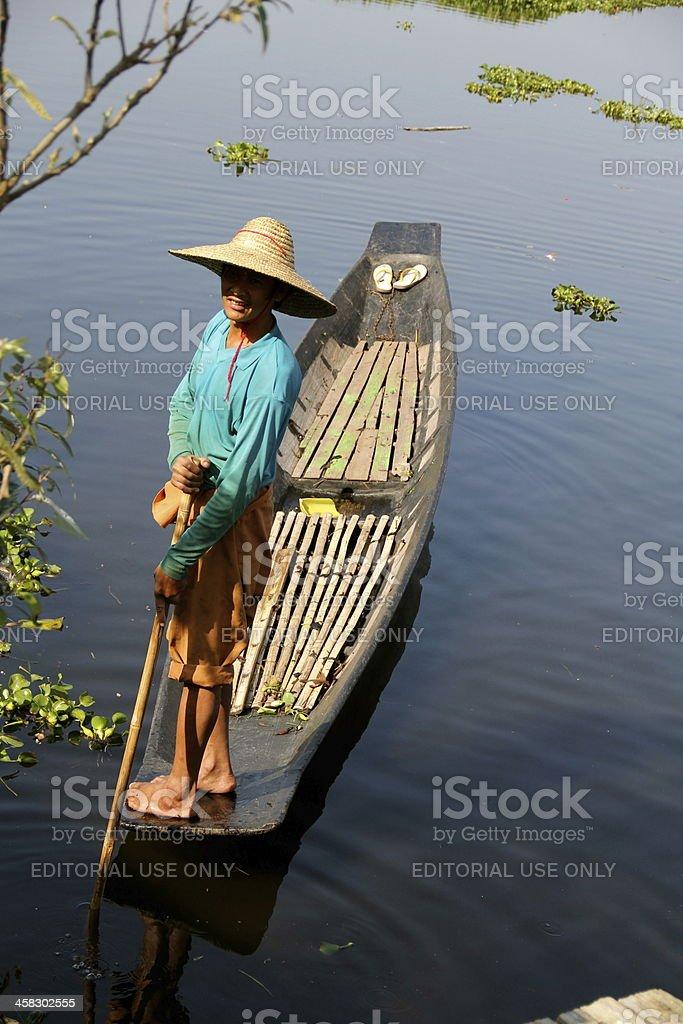 Inle Lake, Myanmar royalty-free stock photo