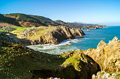 istock Inlet of the Mina in sunny day with blue sky, Prellezo, Spain 1208424184