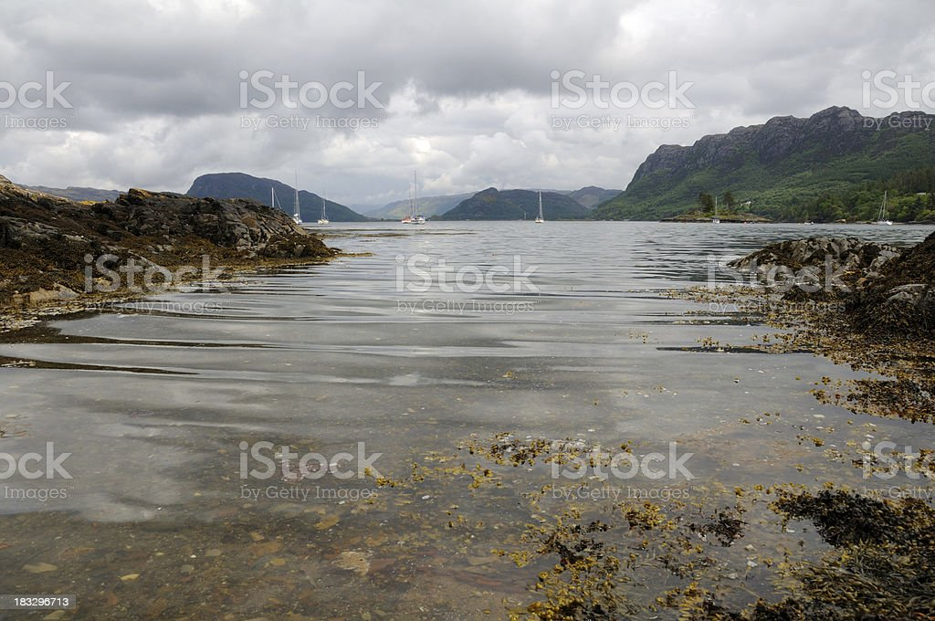 Inlet. royalty-free stock photo