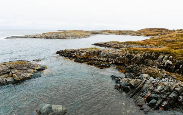 Buchten die atlantischen touristischen Straße zu erreichen – Foto