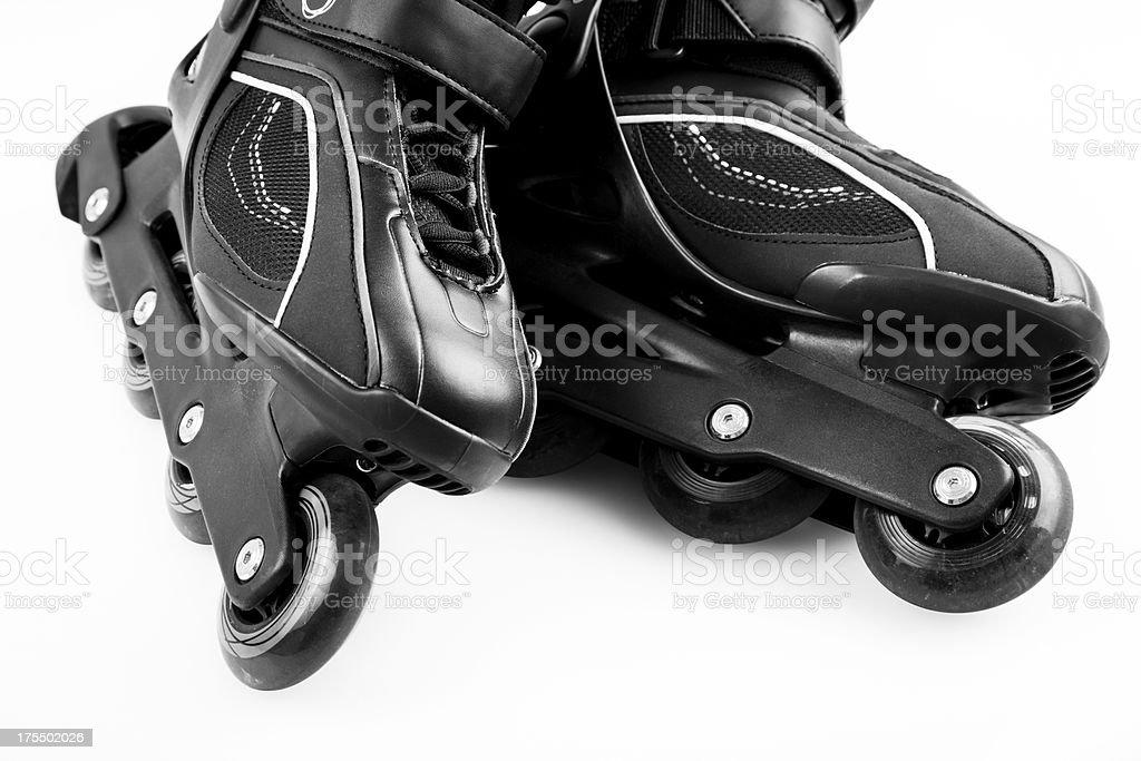 Inline roller skates royalty-free stock photo