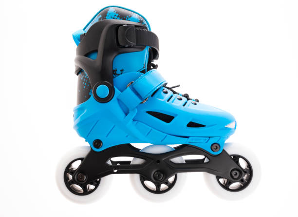 Inline roller skates stock photo