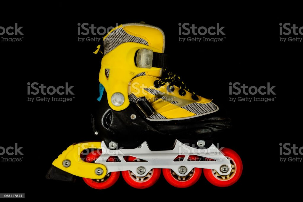 Inline skating skate boot royalty-free stock photo