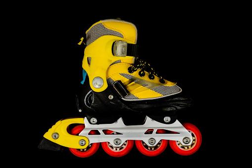 內排滑冰靴 照片檔及更多 單線滾軸溜冰鞋 照片