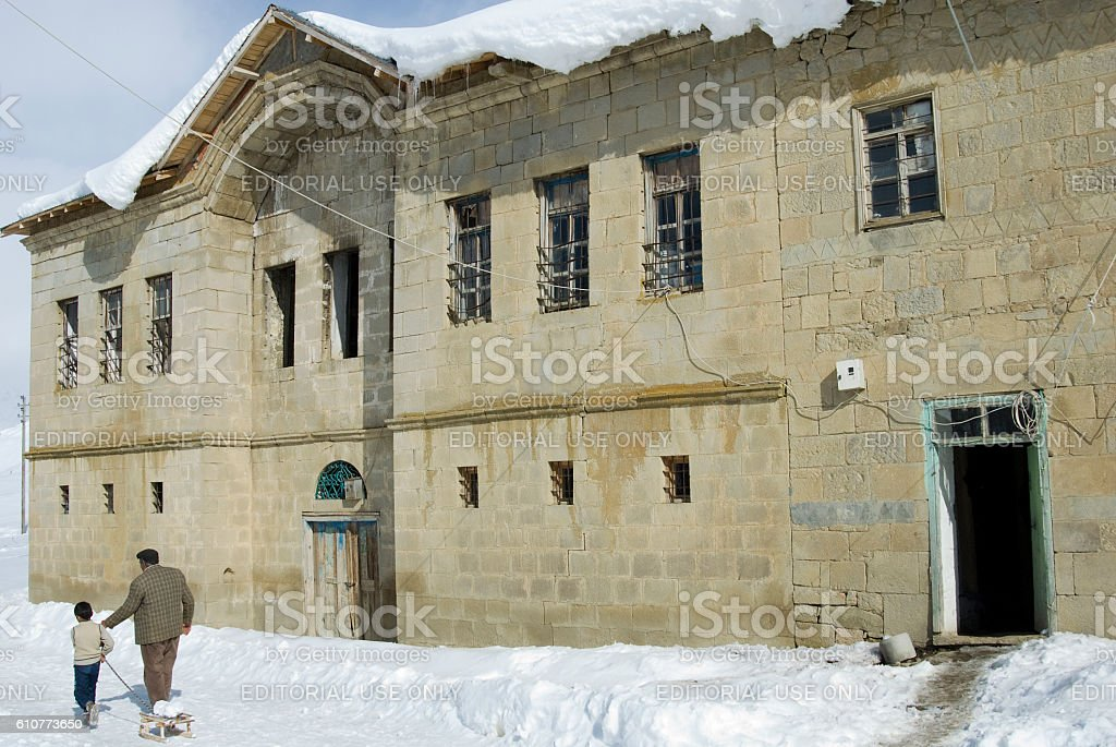 inn at Bingol, Turkey. - Royalty-free Anatolië Stockfoto