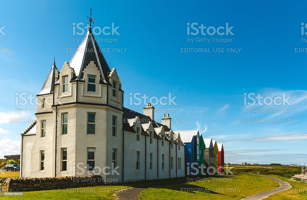 Inn at John o ' Groats zbiór zdjęć royalty-free