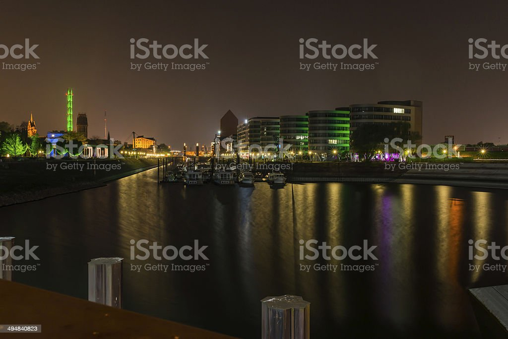 Innenhafen_I stock photo