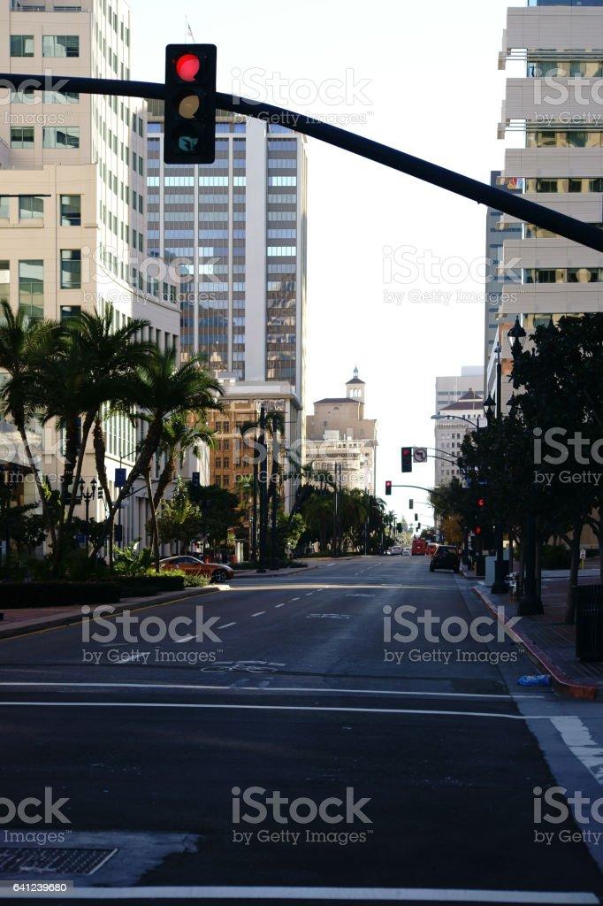 Innenstadt San Diego  Downtown San Diego stock photo