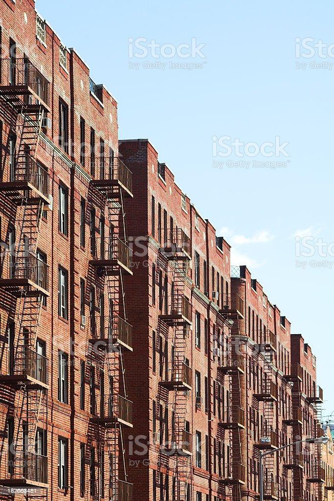 Inner City Housing stock photo