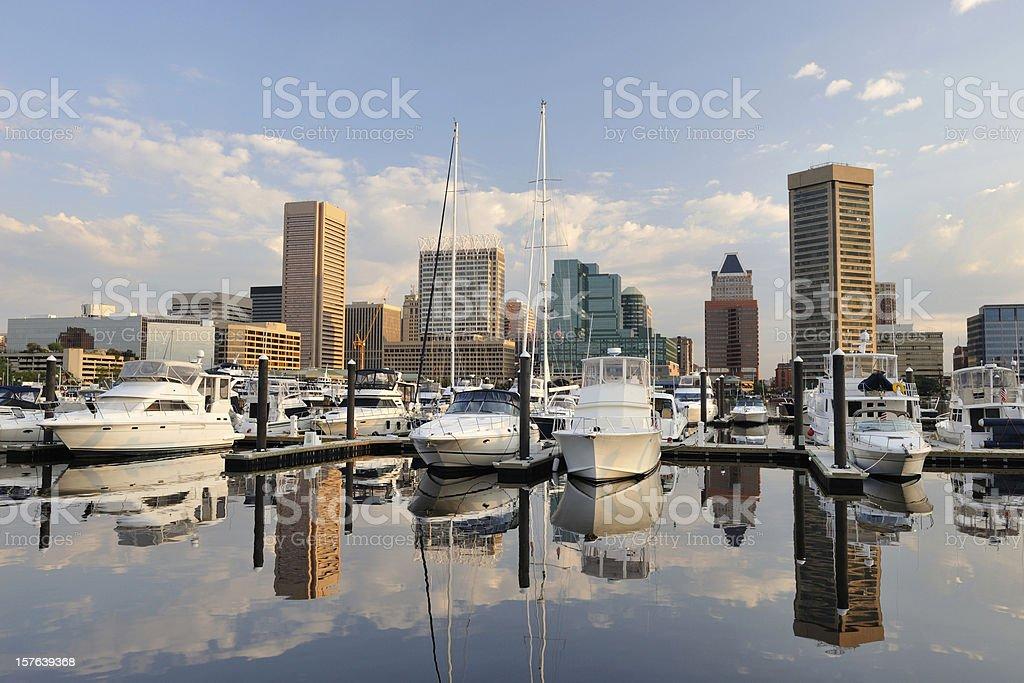Inner Harbor stock photo