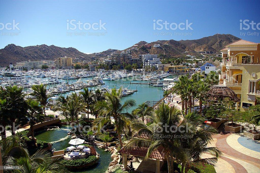 Inner Harbour, Cabo San Lucas stock photo