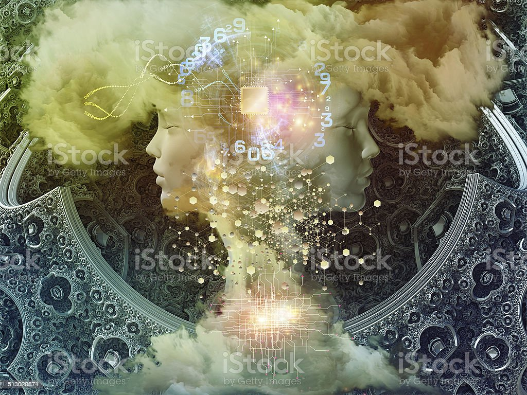 Inner Life of Dream stock photo