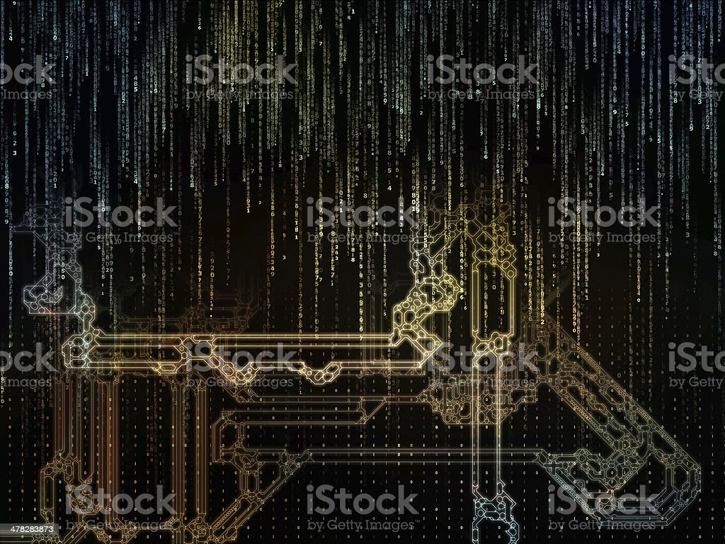Inner Life of Space Division royalty-free stock photo