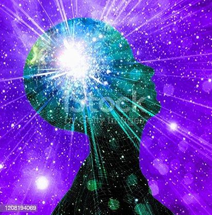 istock Inner Light or Vivid imagination 1208194069