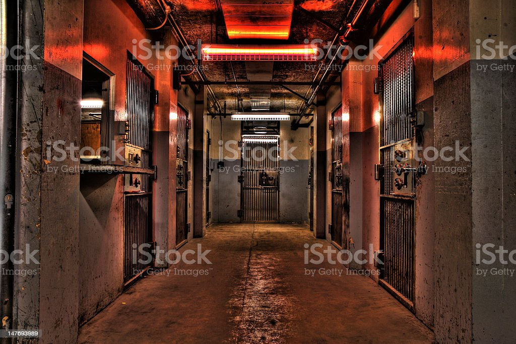 Inner old Vault stock photo
