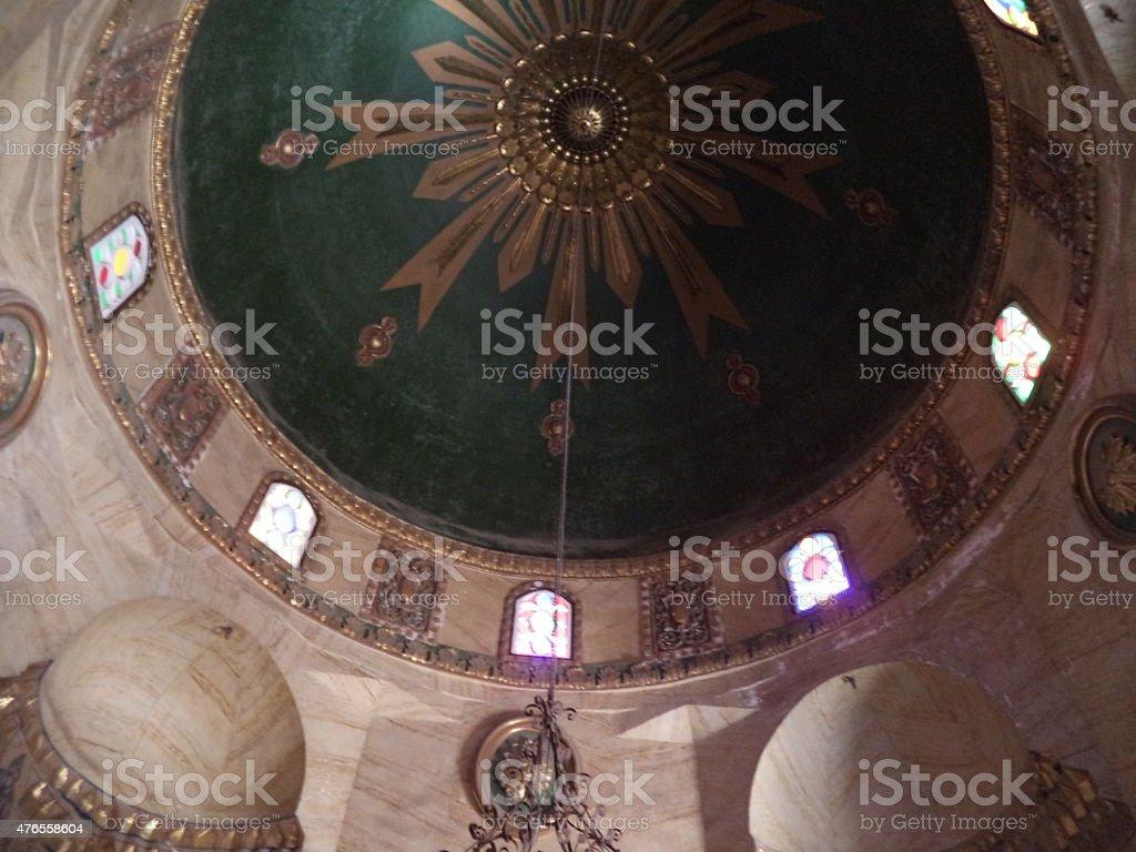 Inner sanctum dome stock photo