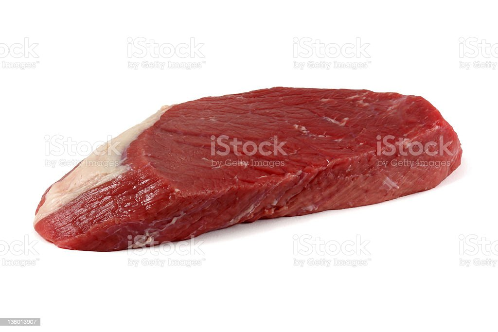 Inner section of beef :  Top round royalty-free stock photo