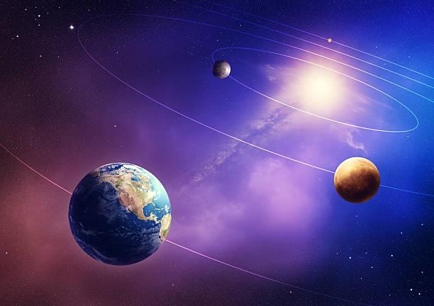 planètes du système solaire interne - venus photos et images de collection